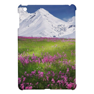 snowy mountains iPad mini covers