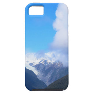 Snowy Mountains, New Zealand Glacier, Aerial View iPhone 5 Case