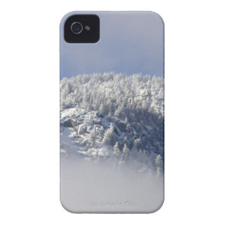 Snowy Mountaintop Trees Case-Mate iPhone 4 Case