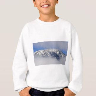Snowy Mountaintop Trees Sweatshirt