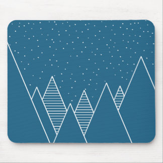 Snowy Mouse Pad