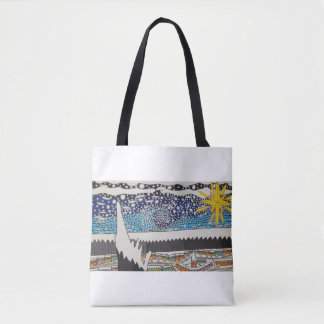 Snowy Nights tote