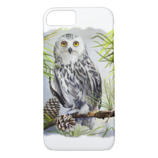 Snowy owl Case-Mate iPhone case