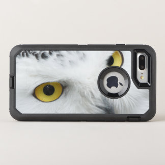 Snowy Owl Eyes OtterBox Defender iPhone 8 Plus/7 Plus Case
