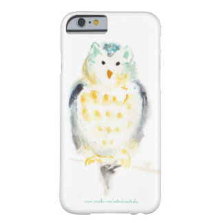 Snowy Owl in Watercolor Barely There iPhone 6 Case