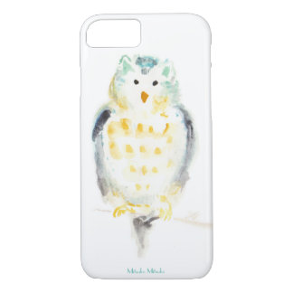 Snowy Owl in Watercolor Case-Mate iPhone Case