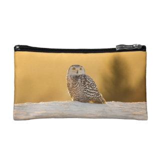 Snowy Owl Makeup Bag