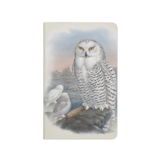 Snowy Owl Pocket Journal