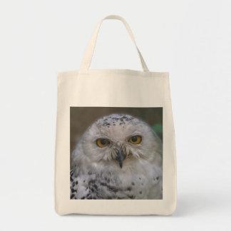 Snowy Owl, Schnee-Eule Tote Bag