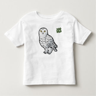 Snowy Owl Toddler T-shirt