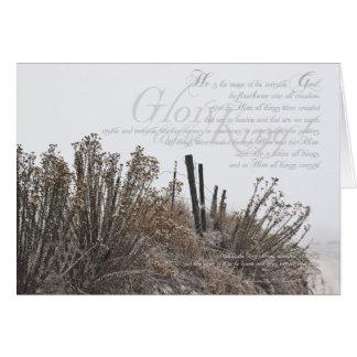 Snowy Photograph Christmas Card