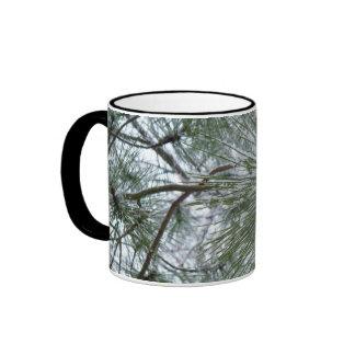 Snowy Pine Needles Mug