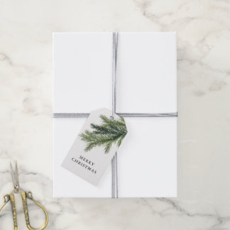 Snowy Pines Gift Tags