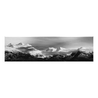 Snowy Prince William Sound Photo Print
