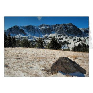 Snowy Range Card