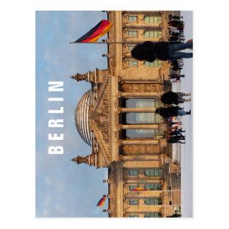 Snowy Reichstag 1.6.T, BERLIN Postcard