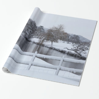 Snowy River Wrapping Paper
