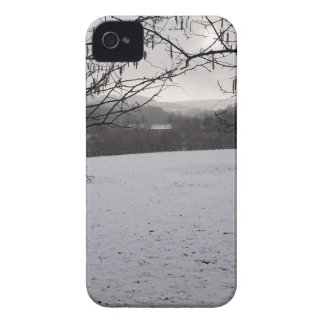 Snowy Scene iPhone 4 Cover
