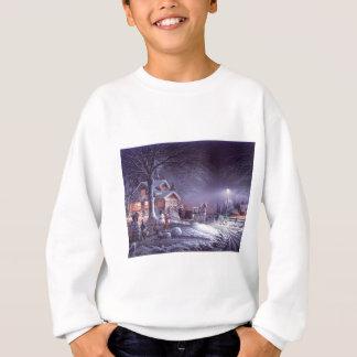 Snowy scene sweatshirt