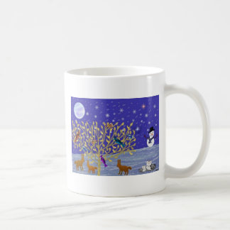 Snowy, Snowy Night Mugs