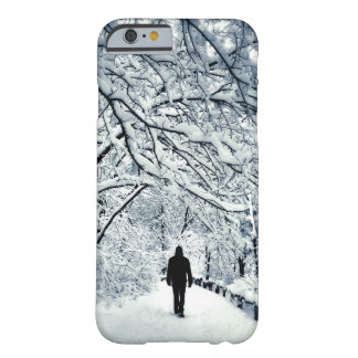 Snowy Solitude Barely There iPhone 6 Case