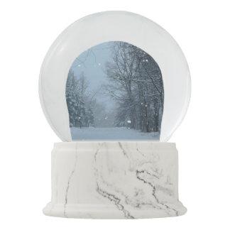 Snowy Street Snow Globe