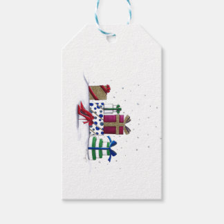 Snowy Surprise Gift Tags