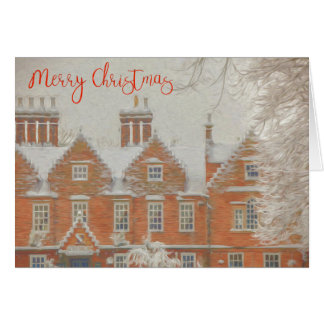 Snowy Tamworth Christmas Card