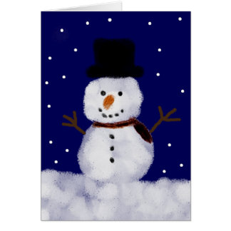 Snowy the Snowman Holiday Cards