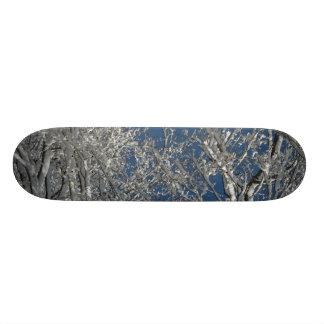Snowy Tree Board Skateboard