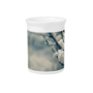 Snowy Tree Mouse Pad Pitcher