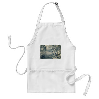 Snowy Tree Mouse Pad Standard Apron