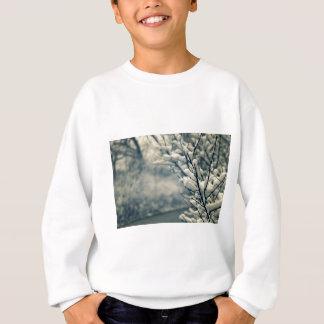 Snowy Tree Mouse Pad Sweatshirt