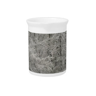 Snowy Trees Beverage Pitchers