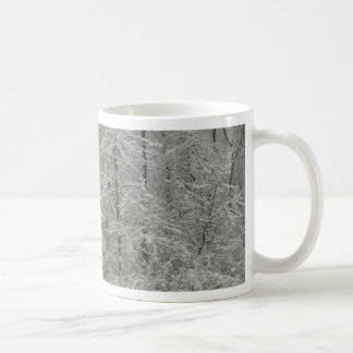 Snowy Trees Coffee Mug