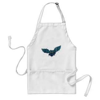 Snowy Winter Forest and Owl 2 Standard Apron