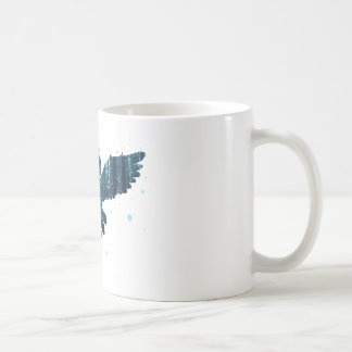 Snowy Winter Forest and Owl Coffee Mug