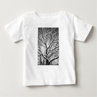 Snowy Winter Intertwine Baby T-Shirt