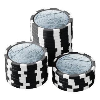 Snowy Winter Trees Poker Chips