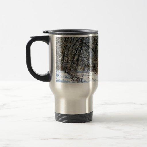 Snowy Woods Mug
