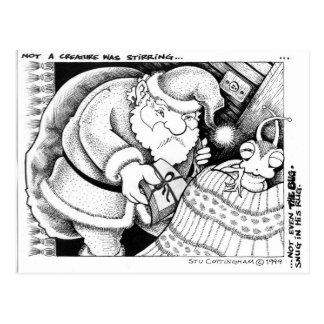 Snug as a Bug in a Rug Postcard