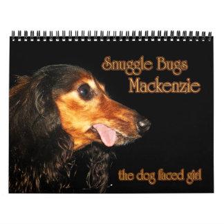Snuggle Bugs Mackenzie Calendar