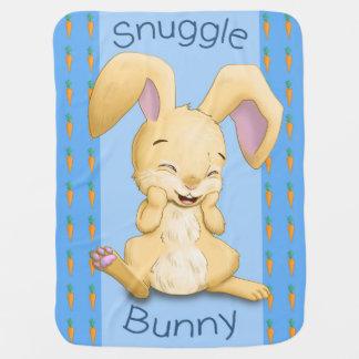Snuggle Bunny Baby Blanket (Blue)