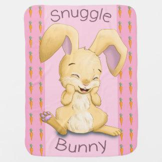 Snuggle Bunny Baby Blanket (Pink)