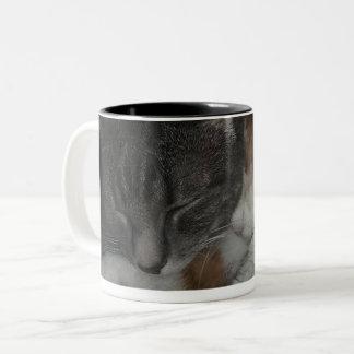 Snuggle me now Two-Tone coffee mug