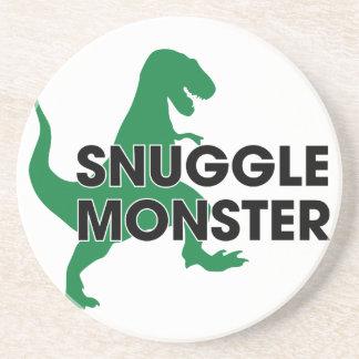 Snuggle Monster Beverage Coasters
