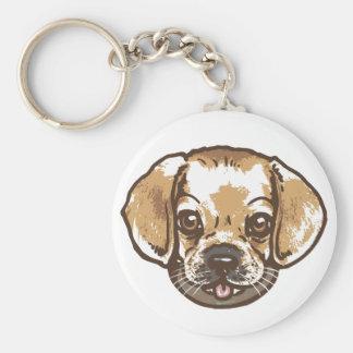 Snuggle Puggle Shirts and Gifts Keychain