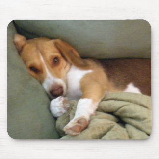 Snuggle Pup Mouse Pad