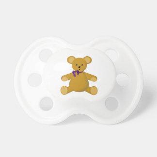 Snuggle the Teddy Bear Pacifier