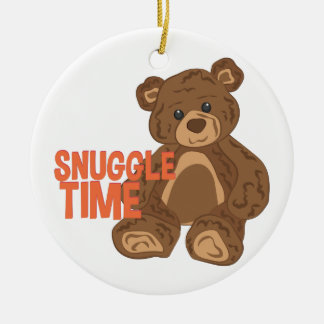 Snuggle Time Ceramic Ornament